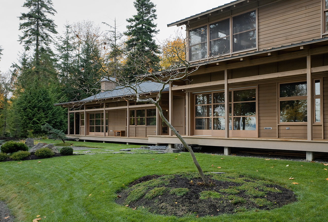 bainbridge island residence ben trodgon architects